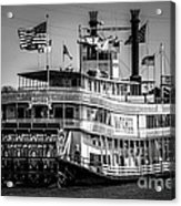 Picture Of Natchez Steamboat In New Orleans Acrylic Print by Paul Velgos