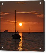 Picture Perfect Sunset Acrylic Print