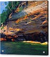 Pictured Rocks National Lakeshore, Lake Acrylic Print