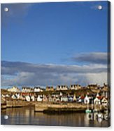 Picturesque Findochty Acrylic Print