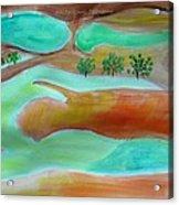 Picturesque Landscape Acrylic Print