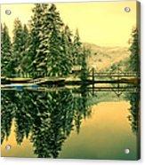 Picturesque Norway Landscape Acrylic Print
