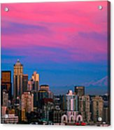 Picturesque Seattle Acrylic Print