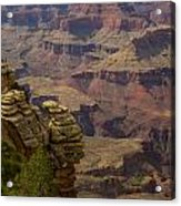 Picturesque View Of The Grand Canyon Acrylic Print