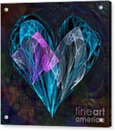 Piece Of My Heart Acrylic Print