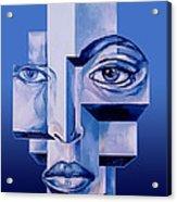 Pieces Of A Man Acrylic Print