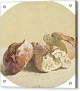 Pieces Of Baguette Acrylic Print