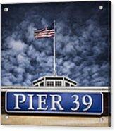 Pier 39 Acrylic Print