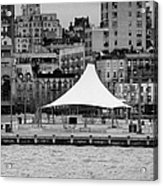 Pier 45 Hudson River Park New York City Acrylic Print by Joe Fox