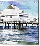Pier 60 Acrylic Print