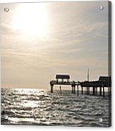 Pier 60  Near Sunset Acrylic Print