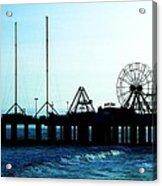 Pier Atlantic City Acrylic Print