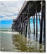 Pier Out Acrylic Print