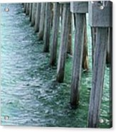 Pier Pressure Acrylic Print