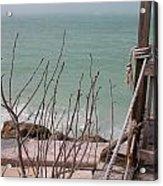 Pier Reviewed Acrylic Print