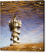 Pier Tower Acrylic Print by Dave Bowman