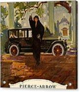 Pierce-arrow  1920s Usa Cc Cars Pierce Acrylic Print