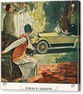 Pierce Arrow 1925 1920s Usa Cc Cars Acrylic Print