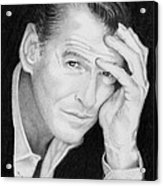 Pierce Brosnan Acrylic Print