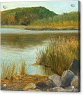 Piermont Shoreline Acrylic Print