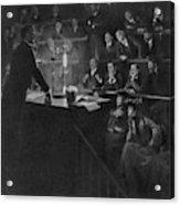 Pierre Curie (1859-1906) Acrylic Print