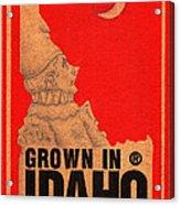 Pierrot Of Idaho Acrylic Print