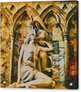 Pieta Masterpiece Acrylic Print