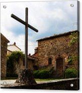 Pieve Di Santa Maria All Sovaro Acrylic Print