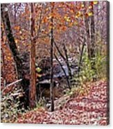 Pigeon Forge River Acrylic Print
