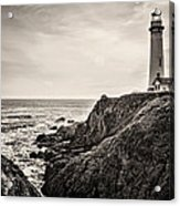 Pigeon Point Light Acrylic Print