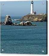 Pigeon Point Lighthouse Near Half Moon Bay-san Francisco Acrylic Print