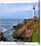 Pigeon Point Acrylic Print