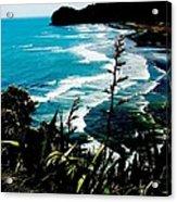 Piha Beach Acrylic Print