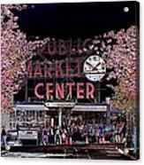 Pike Place Market IIi Acrylic Print