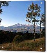 Pikes Peak Landscape Acrylic Print