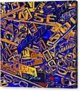 Pile Of Badges 6 Acrylic Print