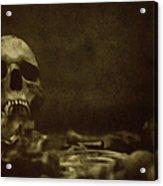 Pile Of Bones Acrylic Print