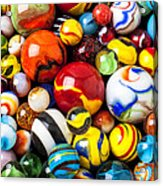 Pile Of Marbles Acrylic Print