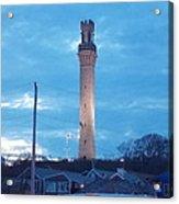 Pilgrim Tower Acrylic Print