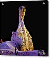 Pillar Of Gold - Bryce Canyon Acrylic Print
