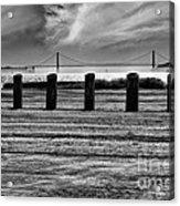 Pillared Bridge Acrylic Print