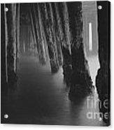 Pillars And Fog 1 Acrylic Print by Paul Topp