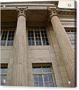 Pillars And Windows Acrylic Print