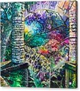 Pillars At The Edge Of The World Acrylic Print