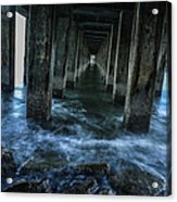 Pillars In San Francisco California... Acrylic Print
