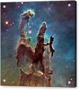 Pillars Of Creation Acrylic Print