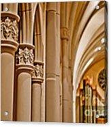 Pillars Of Faith Acrylic Print