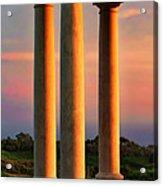 Pillars Of Life Acrylic Print