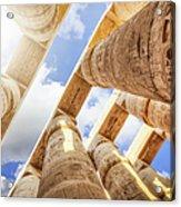 Pillars Of The Great Hypostyle Hall Acrylic Print