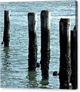 Pillars Of The Sea Acrylic Print